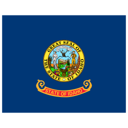 US ID Idaho Flag icon