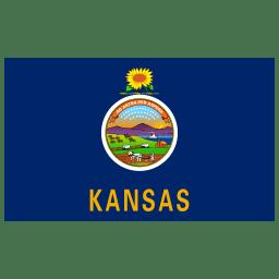 US KS Kansas Flag icon