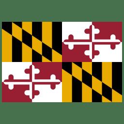 US MD Maryland Flag icon