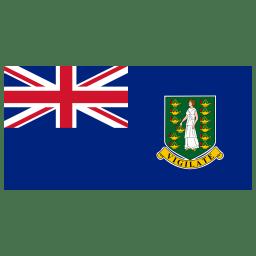 VG British Virgin Islands Flag icon