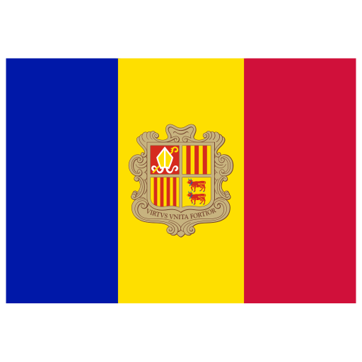 AD Andorra Flag icon