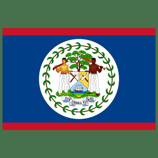 BZ-Belize-Flag icon