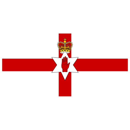 GB-NIR-Northern-Ireland-Flag icon