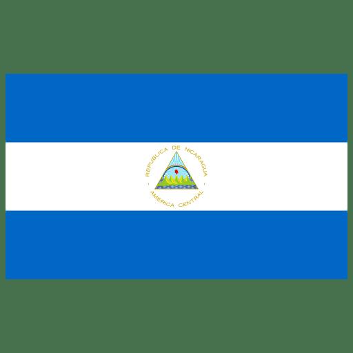 NI Nicaragua Flag icon