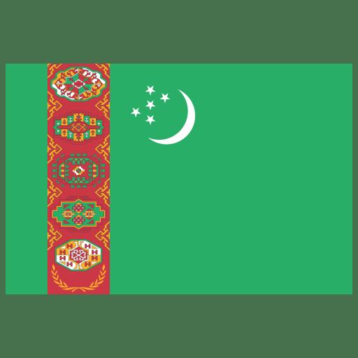 TM-Turkmenistan-Flag icon