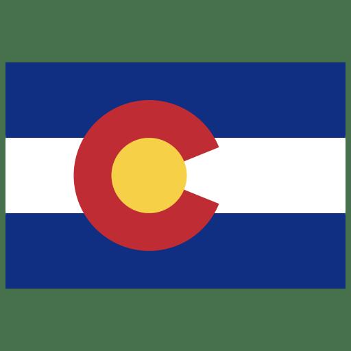 US-CO-Colorado-Flag icon