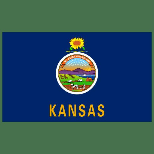 US-KS-Kansas-Flag icon