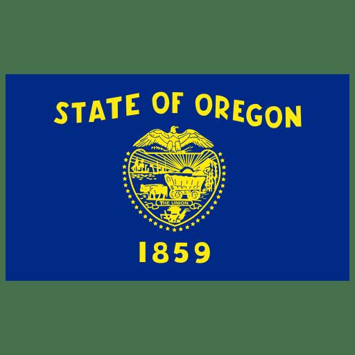 US-OR-Oregon-Flag icon
