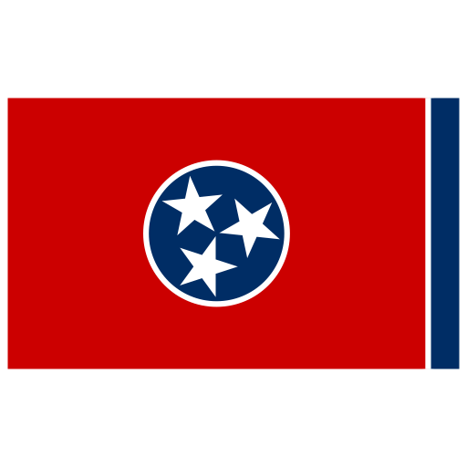 US-TN-Tennessee-Flag icon