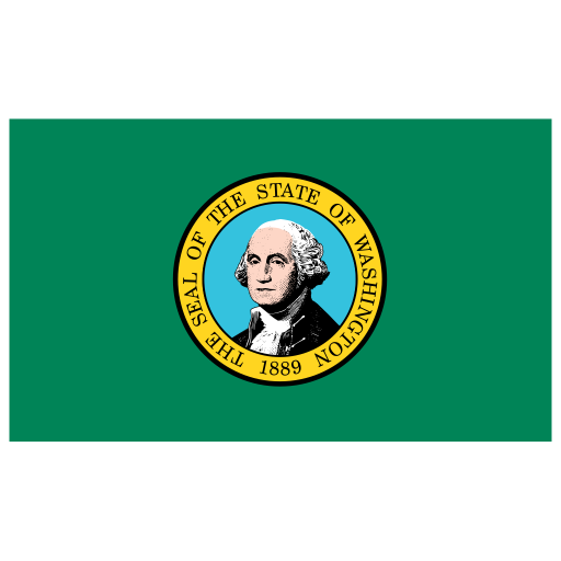 US-WA-Washington-Flag icon