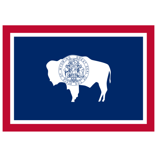 US-WY-Wyoming-Flag icon