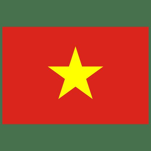 Vn Vietnam Flag Icon Public Domain World Flags Iconset Wikipedia Authors