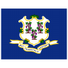 US-CT-Connecticut-Flag icon