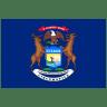 US-MI-Michigan-Flag icon