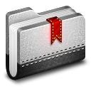 Bookmark Metal Folder icon