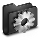 Developer Black Folder icon