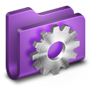 Developer Purple Folder icon