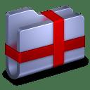 Package Blue Folder icon