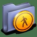 Public Blue Folder icon