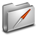Sites Metal Folder icon