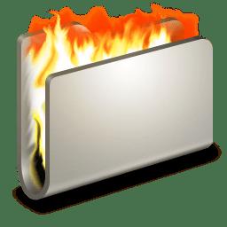 Burn Metal Folder icon