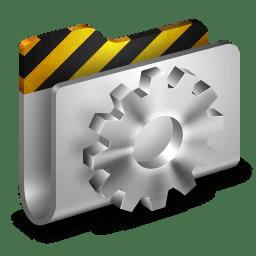 Developer Metal 2 Folder icon