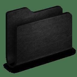 Folder Black Metal Folder icon