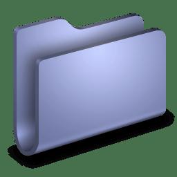 Generic Blue Folder icon