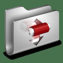 Torrents Metal Folder icon