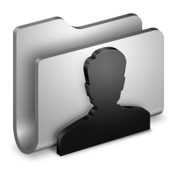 User Metal Folder icon