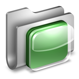 iOS Icons Metal Folder icon