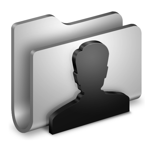 User-Metal-Folder icon