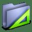 Applications Blue Folder icon