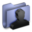 Group Blue Folder icon