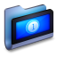 Movies Blue Folder icon