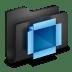 Dropbox-Black-Folder icon