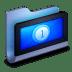 Movies-Blue-Folder icon