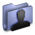 User-Blue-Folder icon