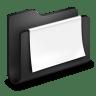 Documents-Black-Folder icon