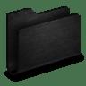 Folder-Black-Metal-Folder icon