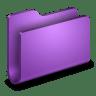 Generic-Purple-Folder icon