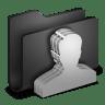 Group-Black-Folder icon