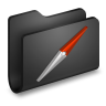 Sites-Black-Folder icon