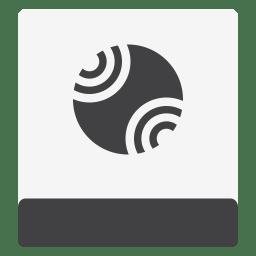 Drive HDD Server White icon
