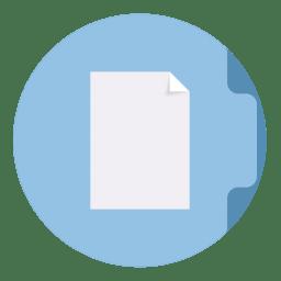 Folder Documents Icon The Circle Iconset Xenatt