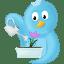 Spring flower icon