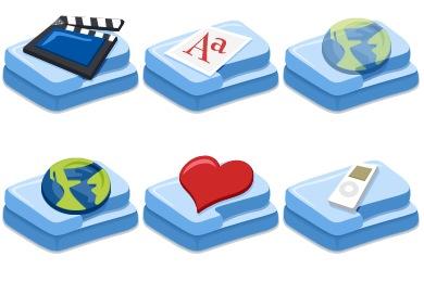 Fush Folders Icons