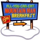 Mountain Man Breakfast icon