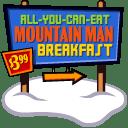 Mountain Man Breakfast icon