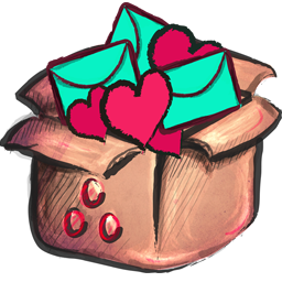 Box Full Icon Crayon Cute Iconset Yohproject